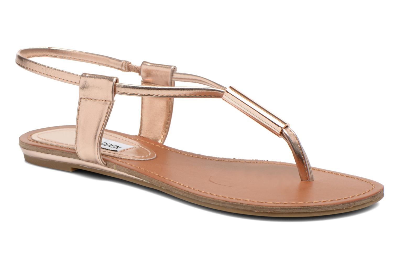 Sandales et nu-pieds Steve Madden Hamil Or et bronze vue détail/paire