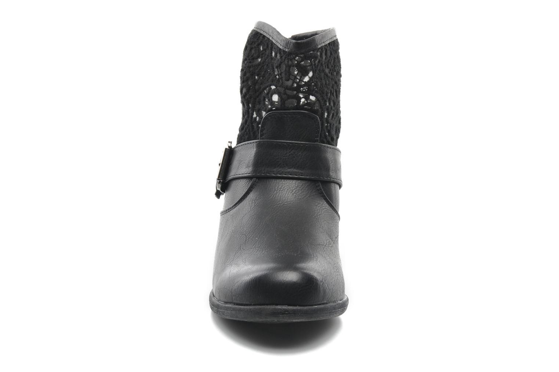 Bottines et boots I Love Shoes Thivu Noir vue portées chaussures