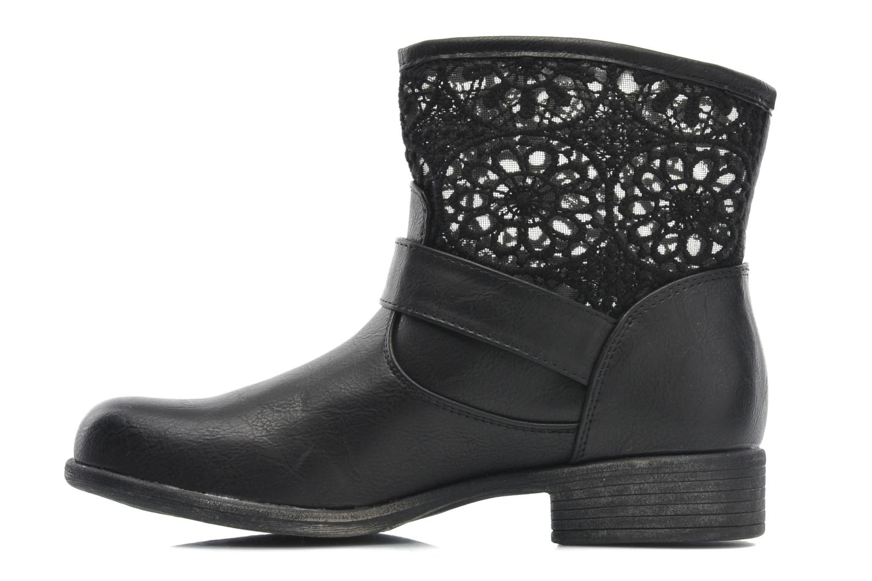Bottines et boots I Love Shoes Thivu Noir vue face