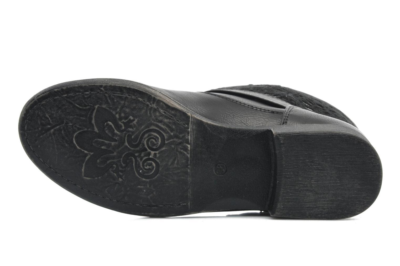 Bottines et boots I Love Shoes Thivu Noir vue haut