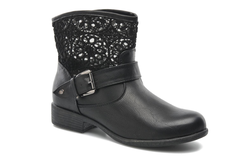 Bottines et boots I Love Shoes Thivu Noir vue détail/paire