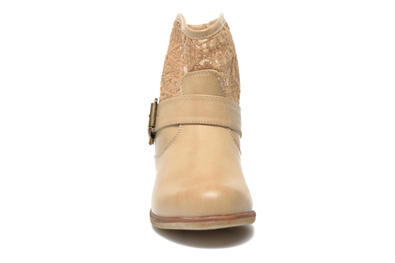 Bottines et boots I Love Shoes Thivu Beige vue portées chaussures