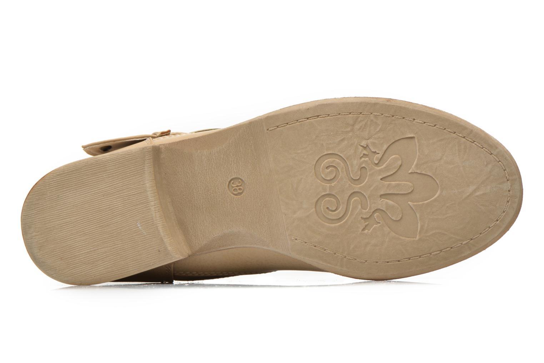 Bottines et boots I Love Shoes Thivu Beige vue haut