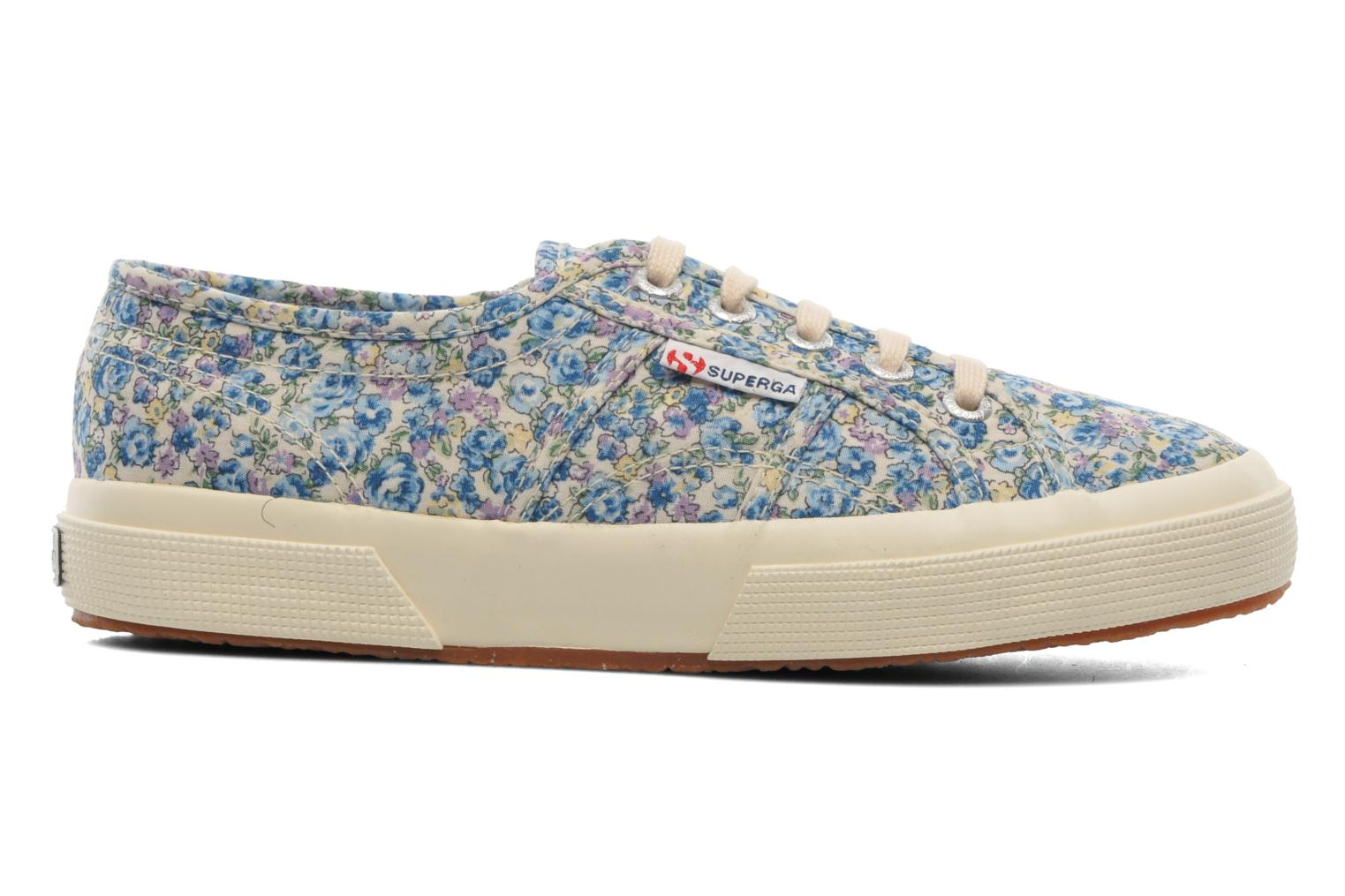 Baskets Superga 2750 Cotu Frabric 25 W Multicolore vue derrière