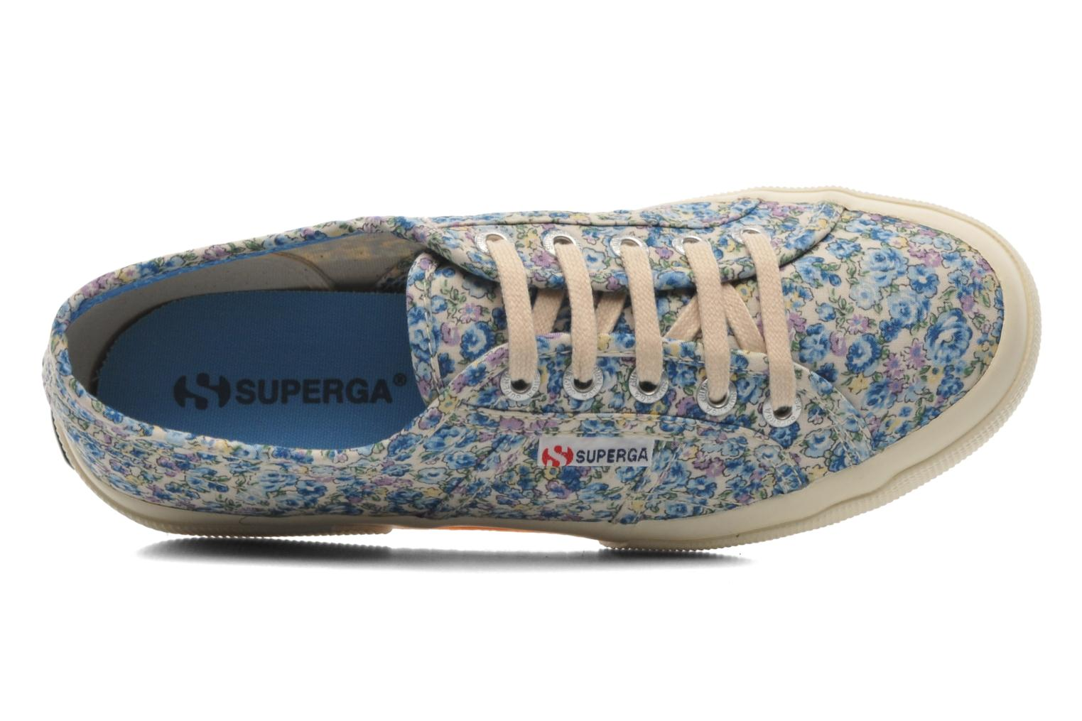 Baskets Superga 2750 Cotu Frabric 25 W Multicolore vue gauche
