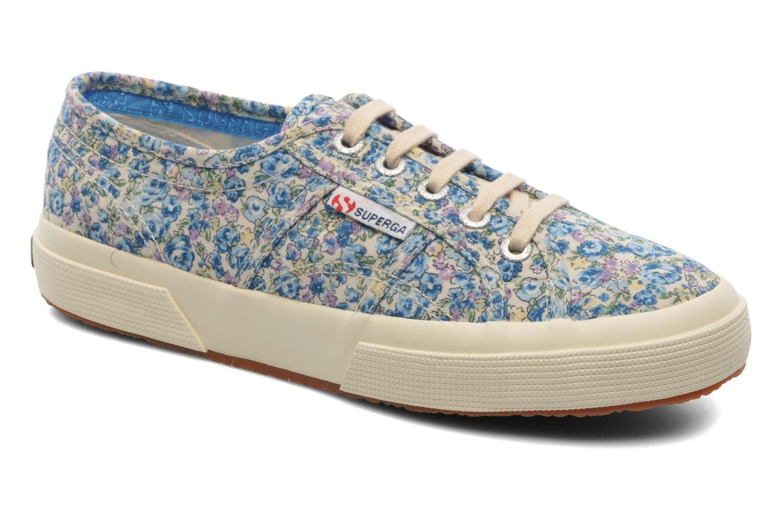 Baskets Superga 2750 Cotu Frabric 25 W Multicolore vue détail/paire