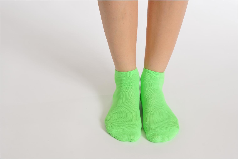 Strømper og tights My Lovely Socks Romane Fluo Grøn se forneden