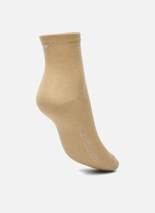 Socks & tights My Lovely Socks Jo Bronze and Gold view from the left