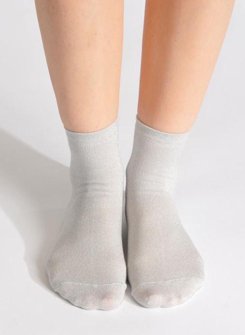 Chaussettes et collants My Lovely Socks Jo Argent vue bas / vue portée sac