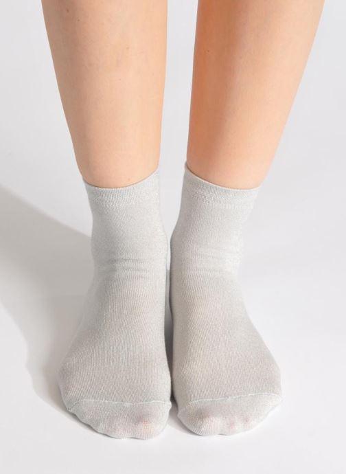 Chaussettes et collants My Lovely Socks Jo Argent vue haut