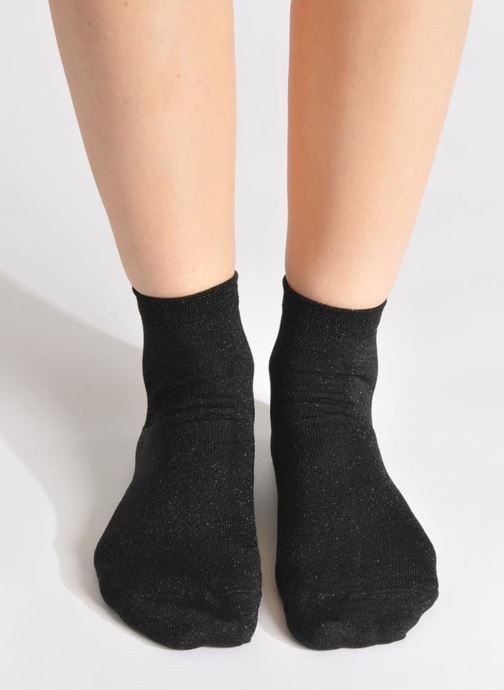 Chaussettes et collants My Lovely Socks Jo Noir vue haut