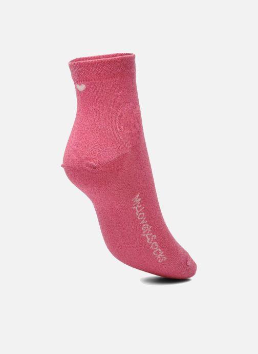 Socken & Strumpfhosen My Lovely Socks Jo rosa ansicht von links