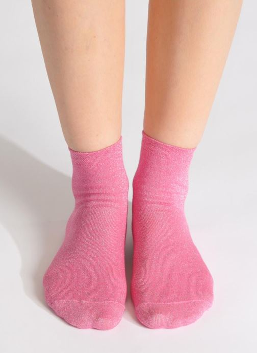Socks & tights My Lovely Socks Jo Pink view from underneath / model view