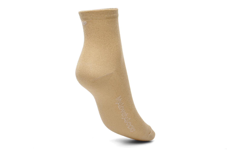 Calze e collant My Lovely Socks Jo Oro e bronzo immagine sinistra