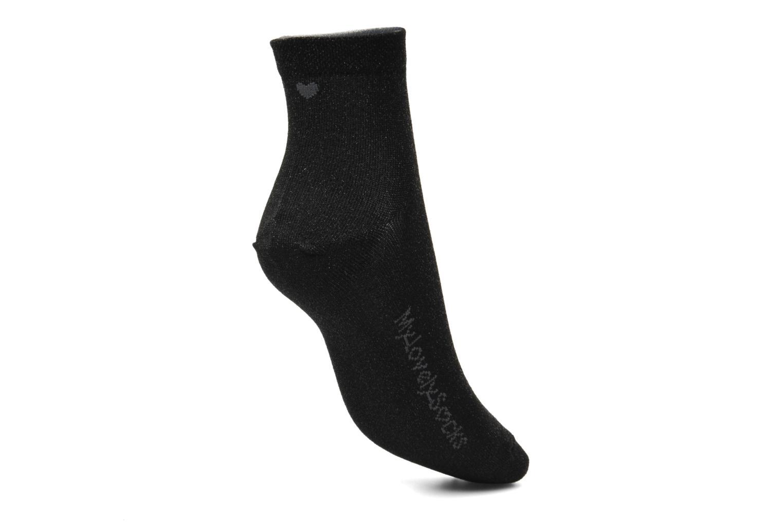 Chaussettes et collants My Lovely Socks Jo Noir vue gauche