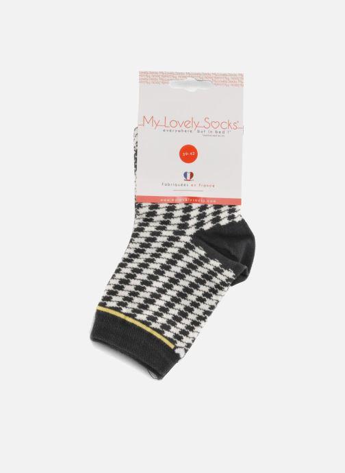 Chaussettes et collants My Lovely Socks Zoe Noir vue derrière