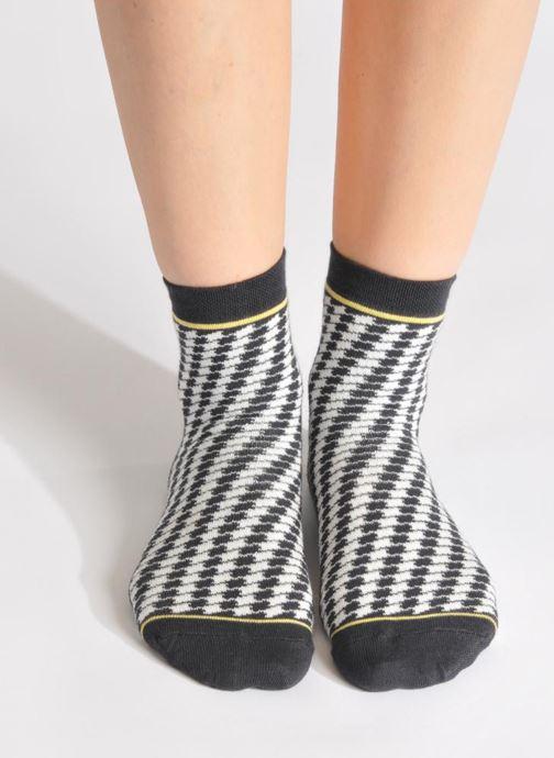 Chaussettes et collants My Lovely Socks Zoe Noir vue haut