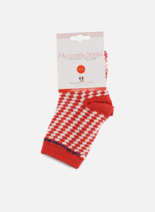 Sokken en panty's My Lovely Socks Zoe Rood achterkant