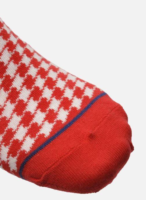 Chaussettes et collants My Lovely Socks Zoe Rouge vue gauche