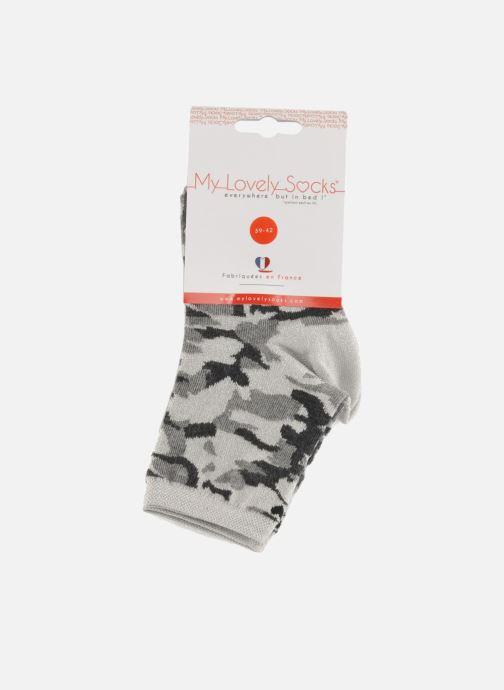 Calze e collant My Lovely Socks Anna Grigio immagine posteriore