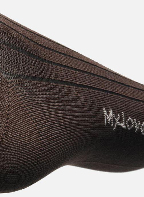 Chaussettes et collants My Lovely Socks Justin Marron vue gauche