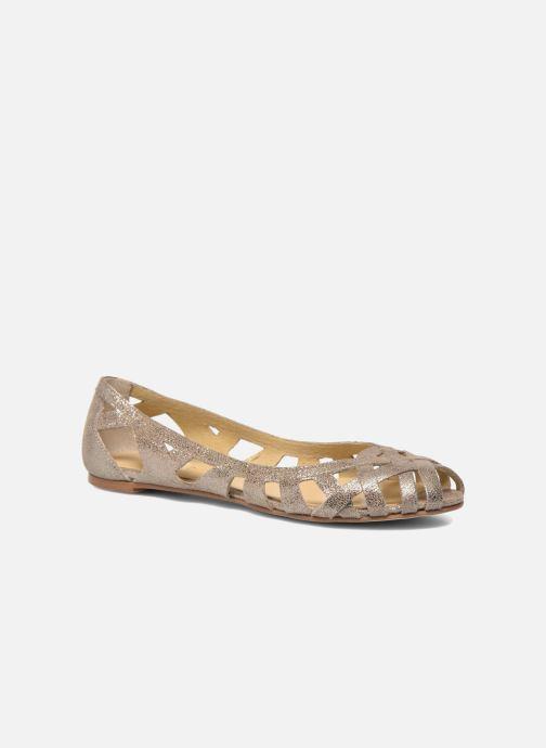 077391377af Ballerinaer Jonak DERAY Beige detaljeret billede af skoene