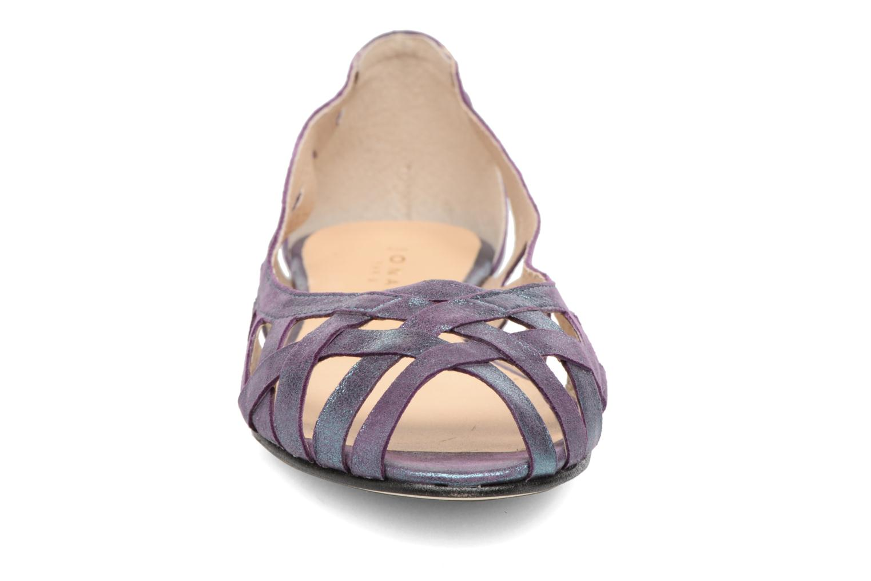 Ballerines Jonak DERAY Violet vue portées chaussures