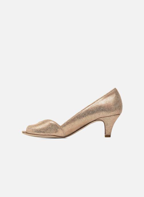Zapatos de tacón Jonak AMUT Oro y bronce vista de frente