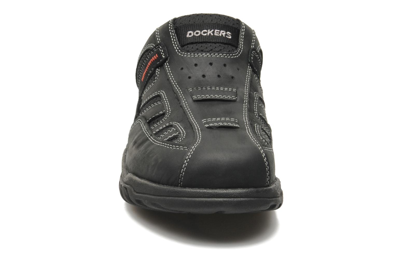 Sandales et nu-pieds Dockers Sibil Noir vue portées chaussures