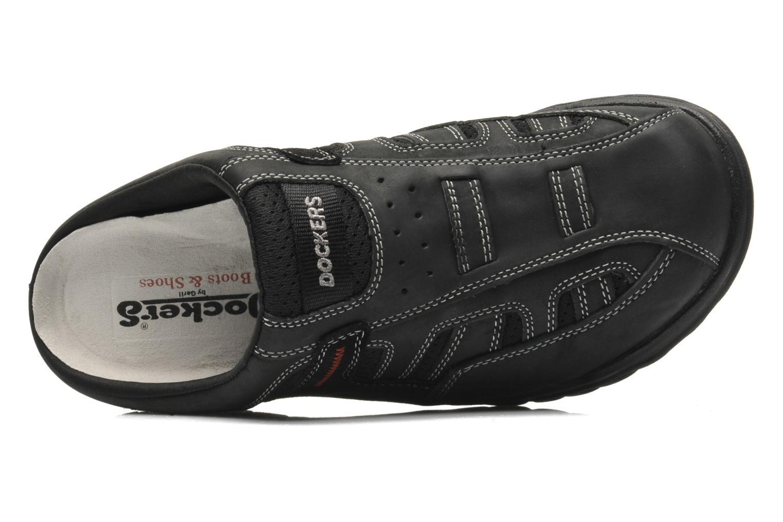 Sandales et nu-pieds Dockers Sibil Noir vue gauche