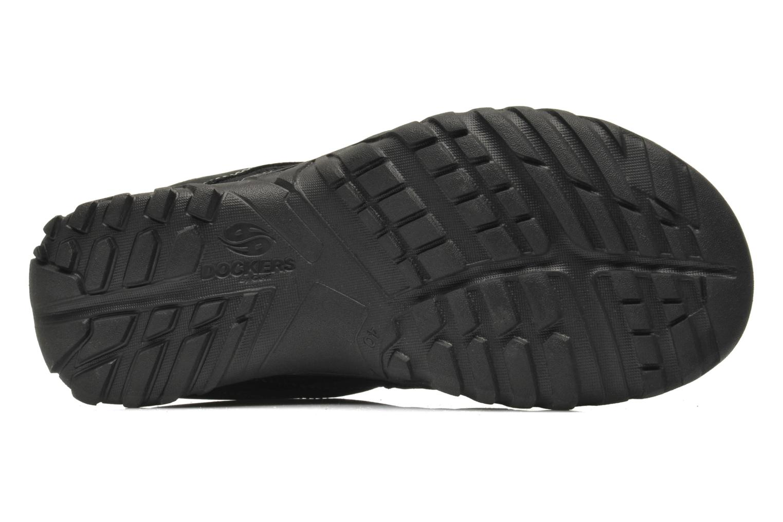 Sandales et nu-pieds Dockers Sibil Noir vue haut