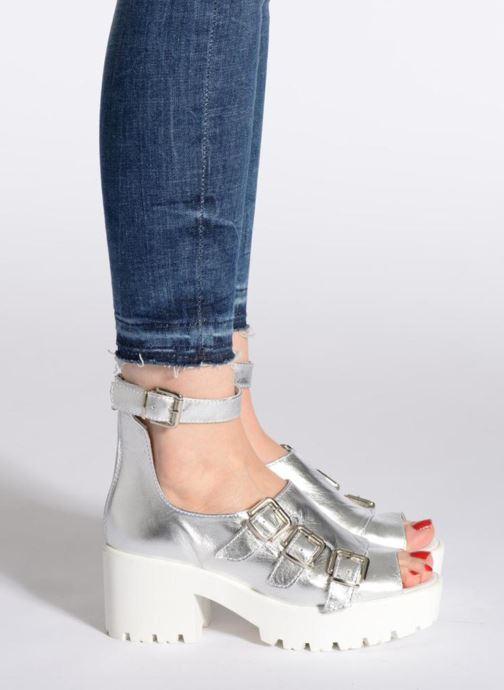 Sandales et nu-pieds Swear Olga 1 Noir vue bas / vue portée sac