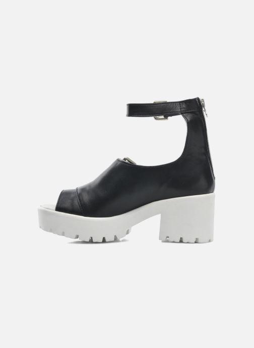 Sandales et nu-pieds Swear Olga 1 Noir vue face
