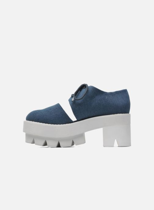 Chaussures à lacets Jeffrey Campbell DELONGE Bleu vue face
