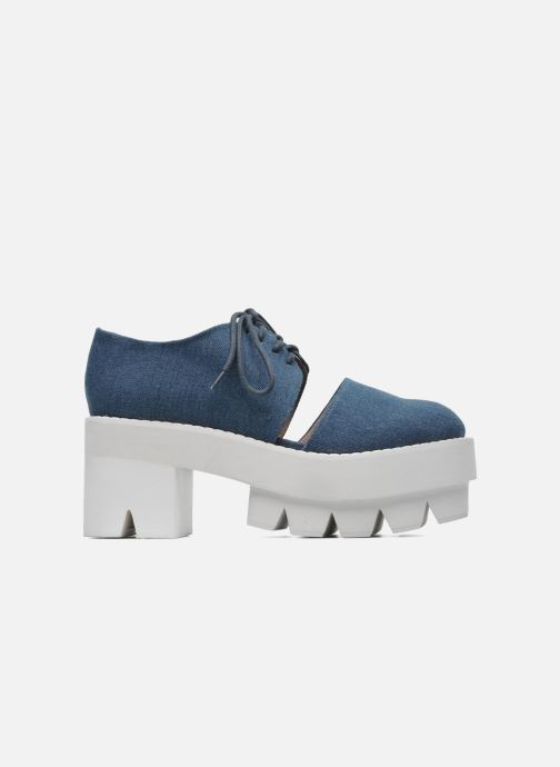 Chaussures à lacets Jeffrey Campbell DELONGE Bleu vue derrière