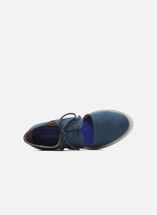 Chaussures à lacets Jeffrey Campbell DELONGE Bleu vue gauche