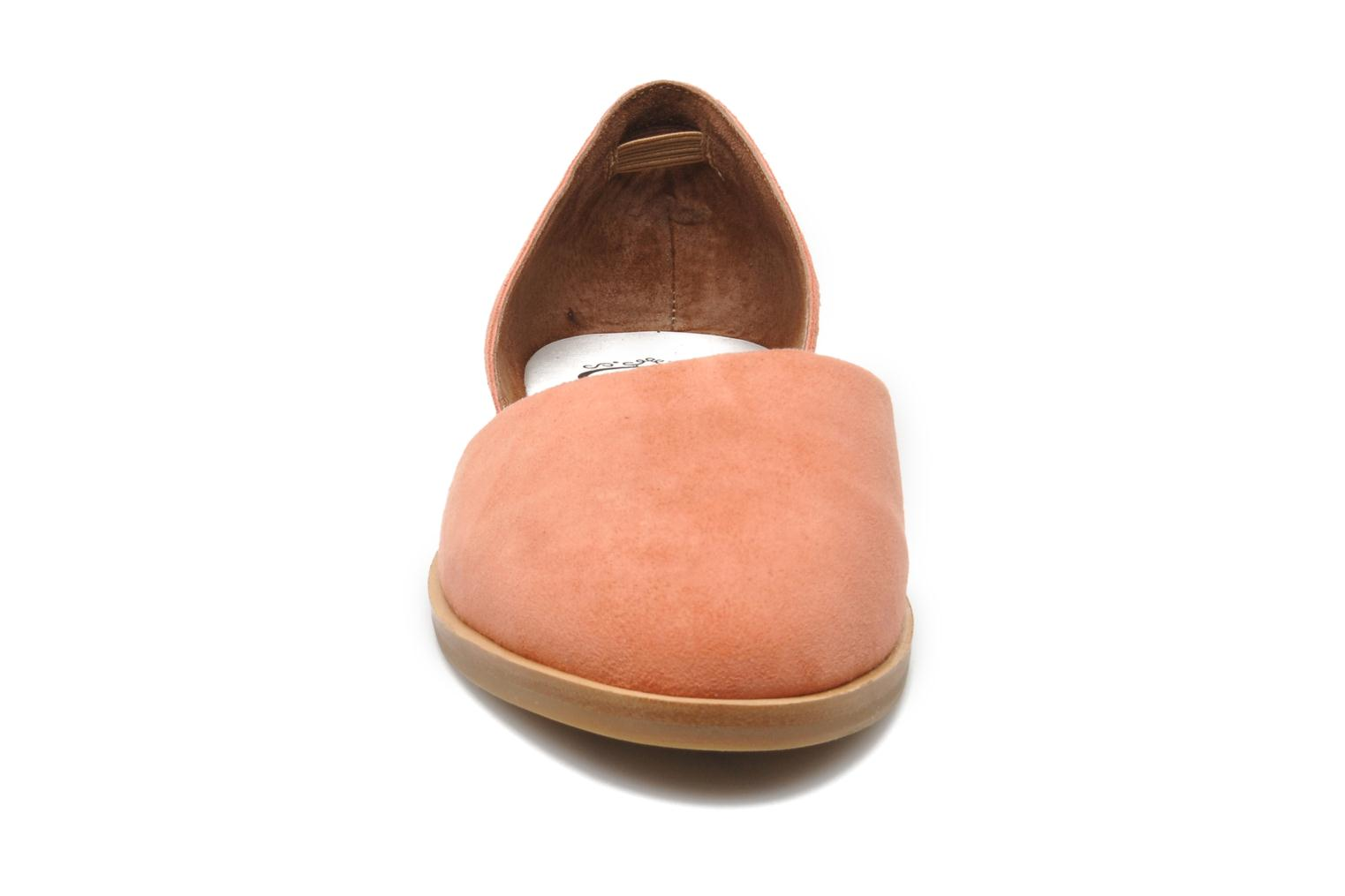 Ballerines Jeffrey Campbell HIT LIKE Rose vue portées chaussures