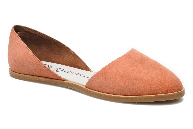 Ballerinaer Jeffrey Campbell HIT LIKE Pink detaljeret billede af skoene