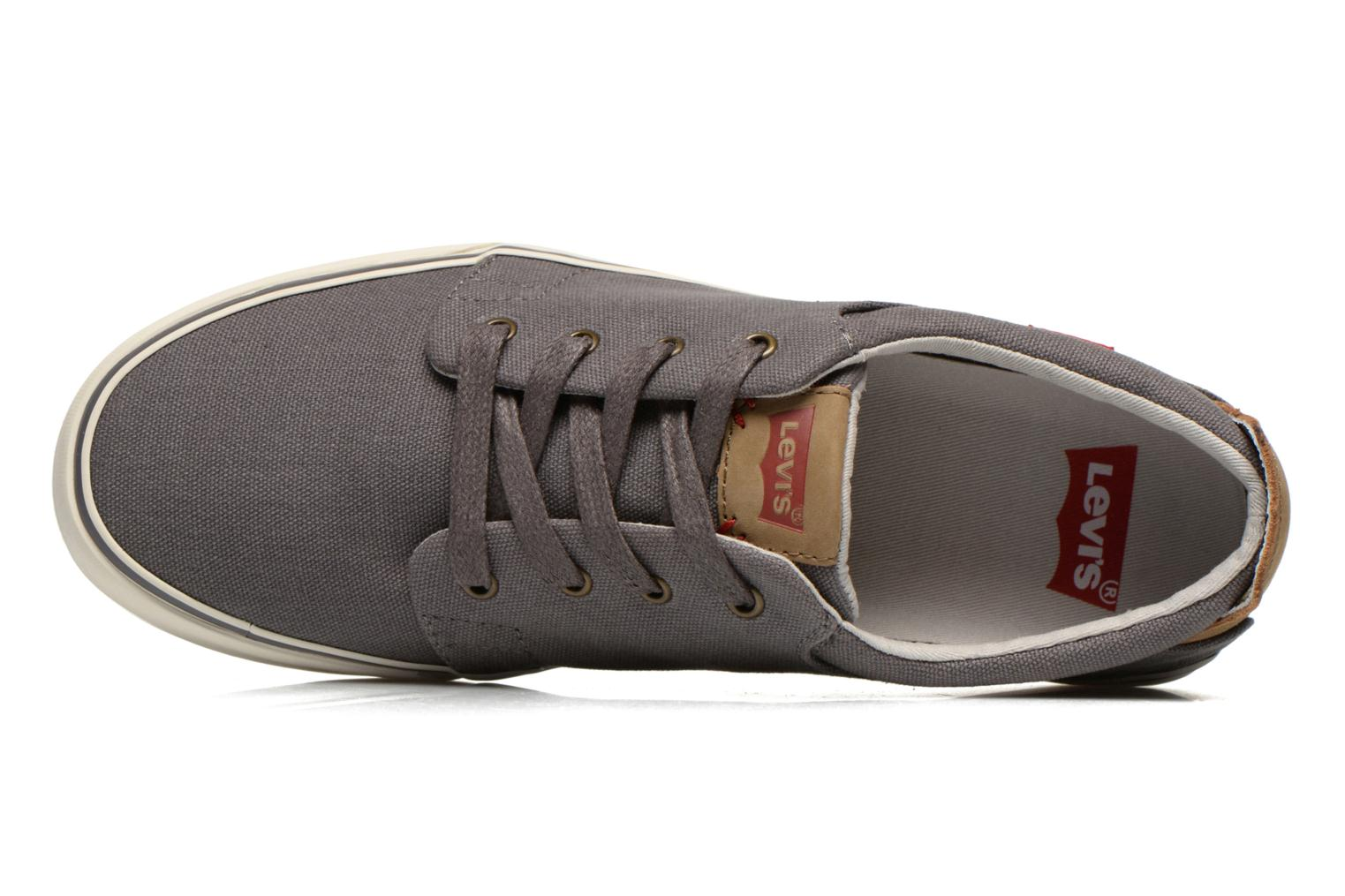 Baskets Levi's Justin Low Lace Gris vue gauche