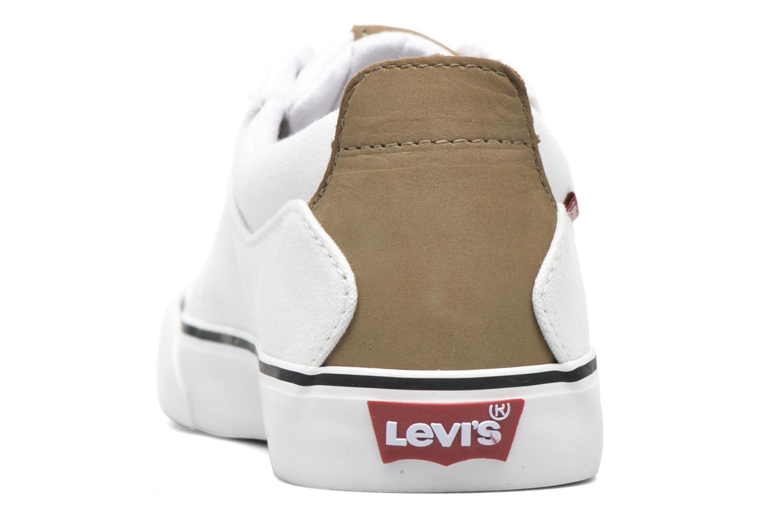 Baskets Levi's Justin Low Lace Blanc vue droite