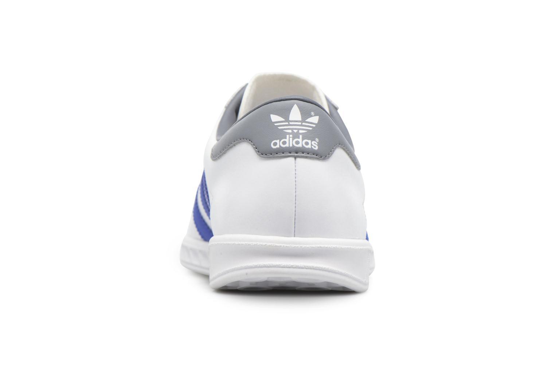 Baskets Adidas Originals Hamburg Blanc vue droite