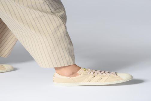 Sneakers adidas originals Superstar 80S W Beige onder