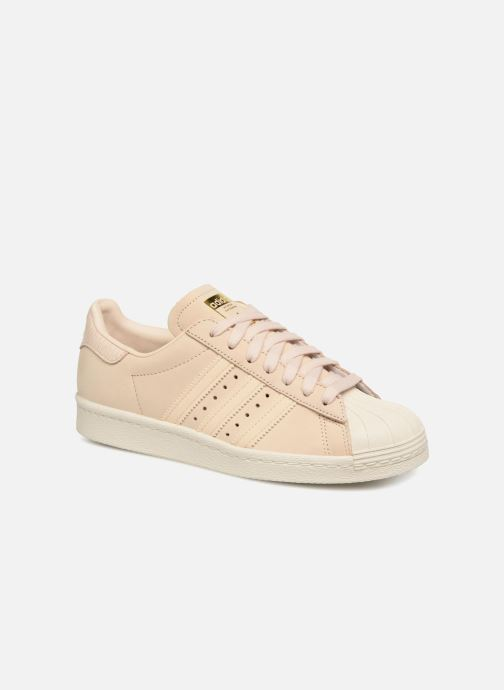 Baskets adidas originals Superstar 80S W Beige vue détail/paire