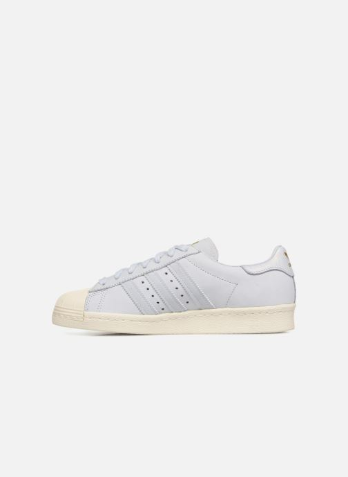 Baskets Adidas Originals Superstar 80S W Bleu vue face