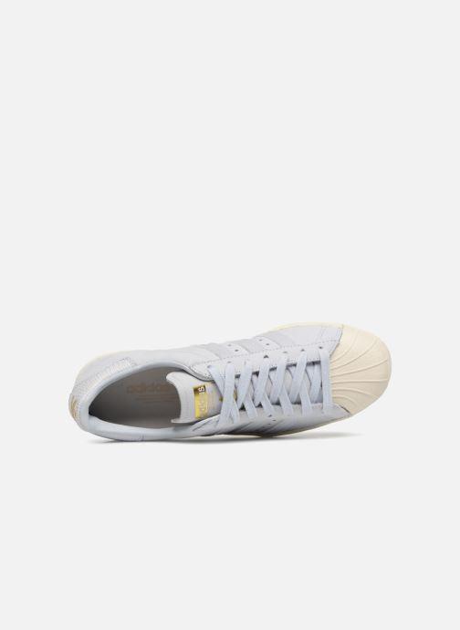 Sneaker adidas originals Superstar 80S W blau ansicht von links