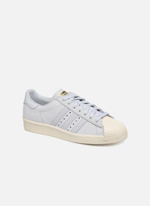 Baskets Adidas Originals Superstar 80S W Bleu vue détail/paire