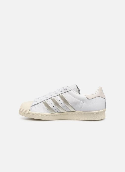Sneakers adidas originals Superstar 80S W Bianco immagine frontale