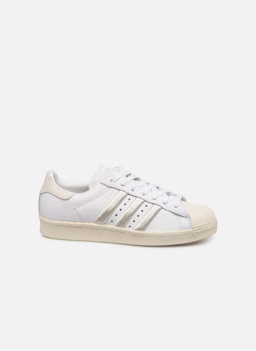 Trainers adidas originals Superstar 80S W White back view