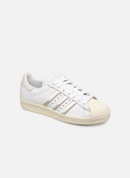 Sneakers adidas originals Superstar 80S W Vit detaljerad bild på paret
