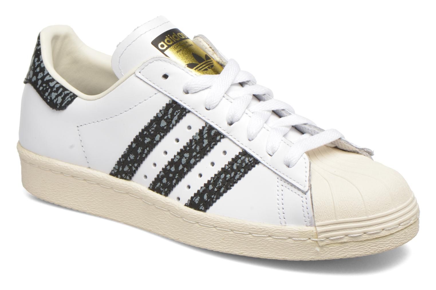 Sneakers Adidas Originals Superstar 80S W Wit detail